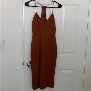 Forever 21 Midi body con dress